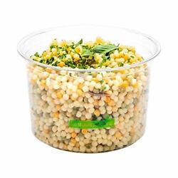 Basic Nature 16 Ounce Deli Containers 500 Compostable Meal Prep Containers - ...