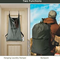 Large Laundry Hanging Bag Backpack With Shoulder Strap Big Heavy Duty Laundry