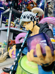 1/4 No Tsume One Piece Trafalgar Law Statue Figurine Model Gifts In-stock New