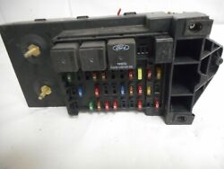 00 Ford F250 F350 Truck Under-dash Cabin Fuse Relay Box Panel Yc3t-14a067-dc