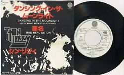 Thin Lizzy And039dancing In The Moonlightand039 1977 Japanese Promotional 7 Vinyl