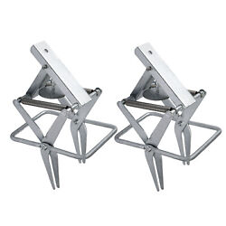 Pair Galvanized Steel Sturdy Large-sized Mole And Gopher Scissor-jaw Trap Mice