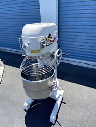 50 Qt Mixer Abs American Baking Systems Commercial 1 1/2 Hp Bakery Pizza