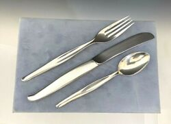 Towle Sterling Silver Contour Flatware Service For 10 Forks Spoons Knives