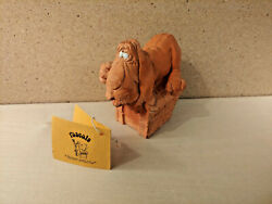 Rascals Vintage Hound Dog Statue quot;Doggone it...I need you.quot; 1973 Wallace amp;Berrie
