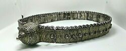 Antique Cossack Belt M.ayrapetov Silver 84 Samples The Russian Empire With Nilo