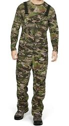 Mens Under Armour Grit Bibs Forest Camouflage Mid Season 1316872-940 Large L