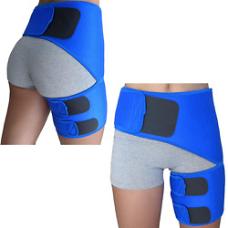 Hip Brace For Sciatica Pain Relief - Groin Thigh Hamstring Compression Sleeve Su