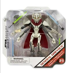 Disney Store General Grievous Action Figure Star Wars Toybox 5 New In Hand 2021