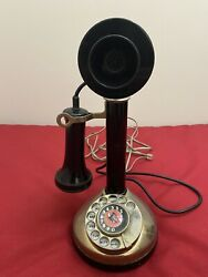Vintage Extremely Rare Radio Shack Candlestick Phone Bonnie amp; Clyde Model 43 321