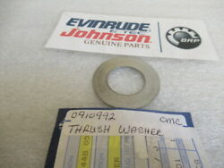 T69 Genuine Omc Evinrude Johnson 910992 Thrust Washer Oem New Factory Boat Parts