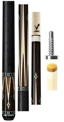 New Predator Valour Sl 4 Pool Cue By Jacoby - Leather Wrap Vantage 12.9mm Shaft