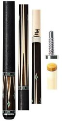 New Predator Valour Sl 4 Pool Cue By Jacoby - Leather Wrap 314-3 12.75mm Shaft
