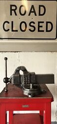 Vintage Early Reed 204 1/2 Bench Vise