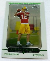Aaron Rodgers 2005 Topps Chrome Rookie Card 190