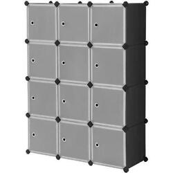 12 Cube Closet Organizer Storage Shelves DIY Closet Cabinet Bookcase Display