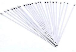25pcs Stainless Steel 304 Self Locking Ball Lock Cable Ties 8 X 3/16 Bd-200x25