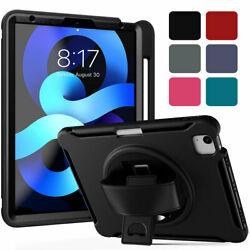 For Apple Ipad Air 1st 2nd 3rd 4th Generation Heavy Duty Rugged Stand Case Cover
