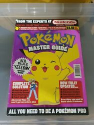 Red/blue Pokemon Trading Card Game - Master Guide - Great Condition...