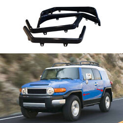 For Toyota Fj Cruiser 2007-2014 Gloss Black Wheel Eyebrow Arches Fender Flares