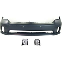 Bumper Covers Set Of 3 Front 68239435aa 68104821ad 68104820ad For Ram 1500
