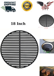 18 Cast Iron Cooking Grate Replace Bbq For Big Green Egg/kamado Kj-23rhc Grill