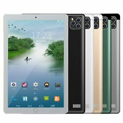 2021 10.1 Wifi Tablet Android8.1 Pad 8/10g+512gb 10 Core Tablet Gps Dual Camera