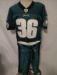 Official Nfl Philadelphia Eagles Brian Westbrook Jersey And Pants