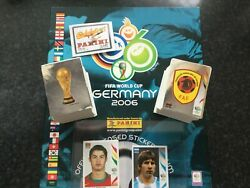 Panini World Cup 2006 Empty Sticker Album And Loose 0-596 Includes Messi And Ronaldo
