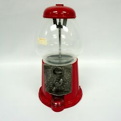 Vintage King Carousel Vintage 1985 Gumball Machine - Accepts All Coins 12