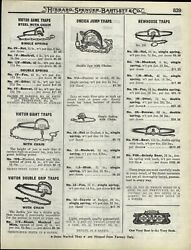 1922 Paper Ad 6 5 Newhouse Grizzly Black Bear Leg Hold Trap 16