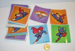 new 56 SHEETS CHILDRENS STICKERS SUPERMAN ACTION HERO CRAFTS CLARK KENT LOVE