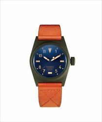 Universal X Nigel Cabourn Watch Self-winding Dome Sapphire Glass Serial Number