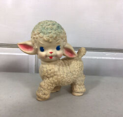 The Sun Rubber Company Vintage Sheep 1955 Squeaker Toy