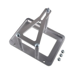 Universal Billet Battery Tray Relocation Box Racing Bracket Lower Tray Accepts