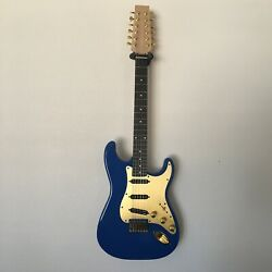 Slick Action Guitars The Boss Se Gold Custom 12-string With Active Electronics