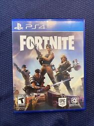 Fortnite Ps4 Physical Game Disc - Playstation 4- Original 2017 Launch