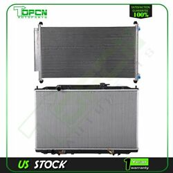 Fits 2005-2010 Honda Odyssey Replacement Radiator And Condenser Assembly