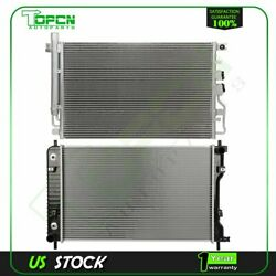 Fits Chevrolet Equinox Gmc Terrain Replacement Radiator And Condenser Assembly