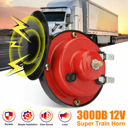 12V 300DB Super Loud Train Horn Waterproof for Motorcycle Car Truck SUV Boat US