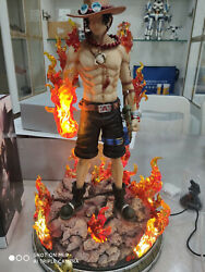 New 1/5 Scale Dream Studio One Piece Portgas·d· Ace Gk Collector Limited Statue