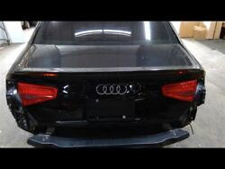 Trunk Decklid Black With Carbon Spoiler Fits 13-16 A4 Paint Code Ly9b 684057