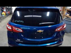 Hatch Tailgate Blue With Privacy Tint Opt Ako Fits 18-19 Equinox 758624