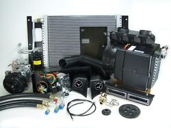 Chevy Pickup Full Cable Controlled A/c Air Conditioning Heat Kit 235 6 Cylinder
