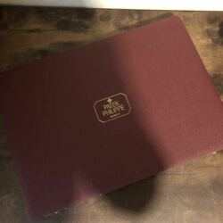 Patek Philippe Watch Case Box Collection For 8 Items Antique