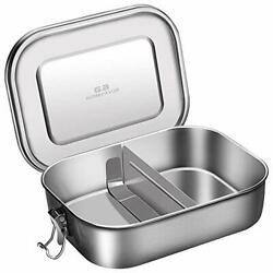 Stainless Steel Leakproof Bento Lunch Box G.a Homefavor Metal Bento Boxes With