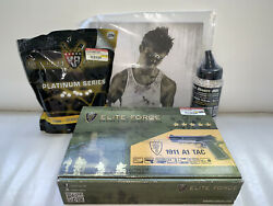 Elite Force 1911 Tac Airsoft Full Blowback Pistol With Magazine And Allen Wrench