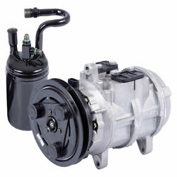 For Ford Ranger And Bronco Ii Ac Compressor W/ A/c Drier Dac