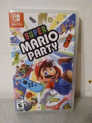 Super Mario Party Nintendo Switch 2018 Tested Working Great