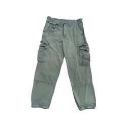 Vintage Polo Army Green Military Field Cargo Pants Mens Size 34x32